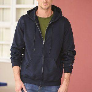 Custom Double Dry Eco® Full-Zip Hooded Sweatshirt